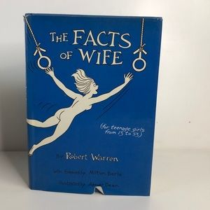 Rare! The Facts of Wife vintage book